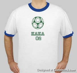 Kaka Soccer Shirt